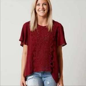 The Buckle Coco & Jamison crocheted top